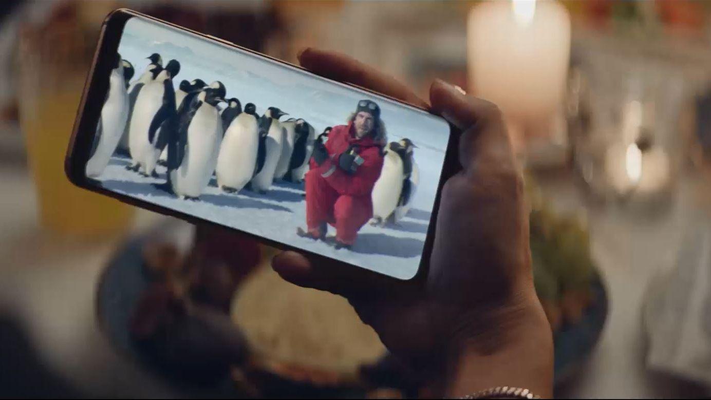 Weihnachtskampagne Samsung Und Leo Burnett Feiern Die Macht Der