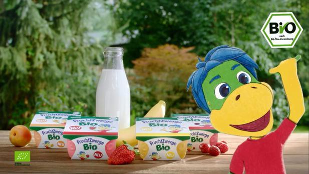 Danone So Führt Scholz Friends Die Neuen Fruchtzwerge Bio Ein