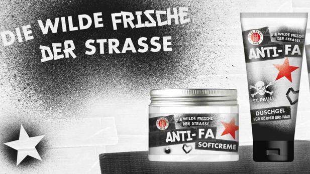 Anti-Fa-Kampagne. Quelle: https://www.horizont.net/news/media/26/St.-Pauli-Anti-Fa-256189-detailnp.jpeg