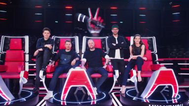 "Die Jury von ""The Voice of Germany"" anno 2018"