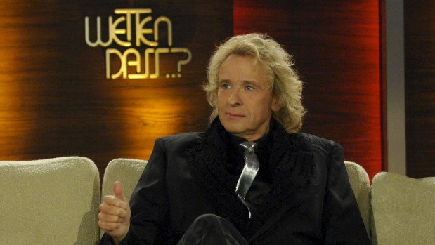 """ZDF-Show: Gottschalk macht zu seinem 70. Geburtstag noch einmal """"Wetten, dass ..?"""""""