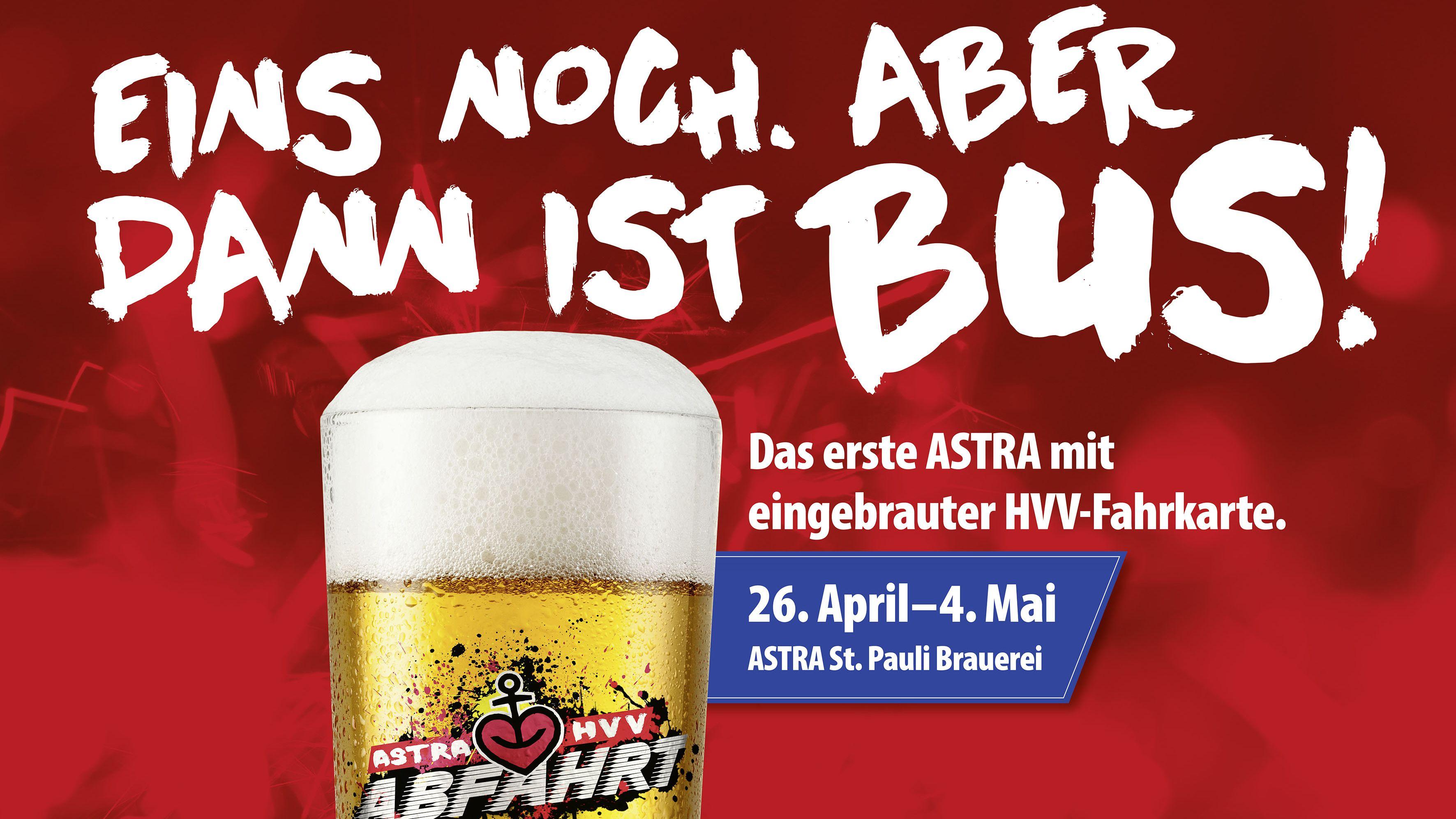 Eins noch. Aber dann ist Bus!: Wie die HVV und Astra ein bisschen BVG-Magie nach Hamburg holen