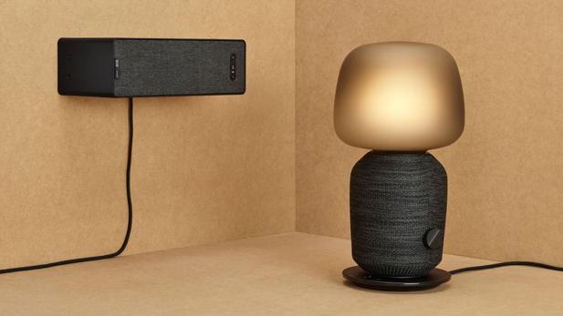 Symfonisk Ikea Und Sonos Kreuzen Tischlampe Und Lautsprecher