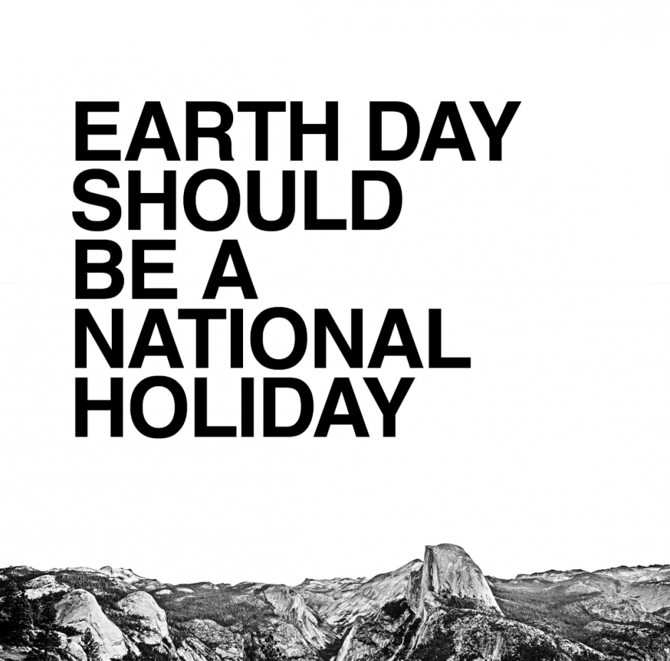 The North Face hat auf Change.org eine Petition gestartet, um den Earth Day zum Nationalfeiertag in den USA zu machen