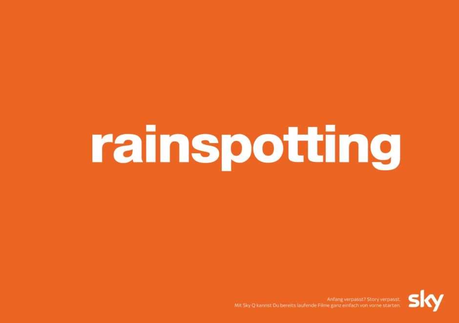 "Aus ""Trainspotting"" wird ""Rainspotting"""