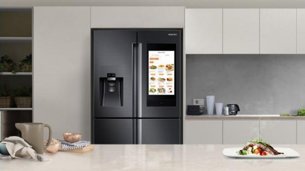 Kühlschrank Samsung : Samsung family hub mit diesem kühlschrank kann eingekauft werden