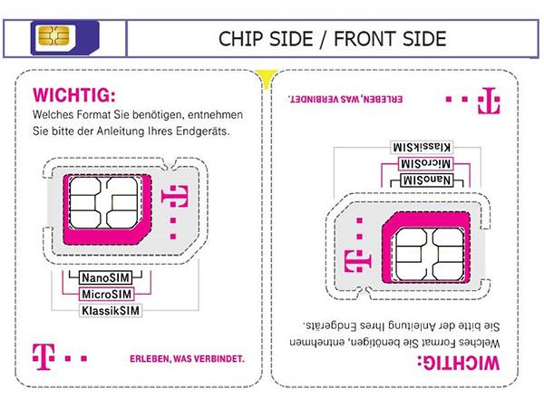 Neue Sim Karte.Mullvermeidung Telekom Will Jetzt Auch Plastikmull