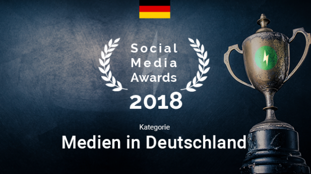 And the Social Media Award 2018 goes to: Bild
