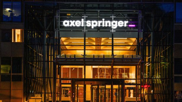 Das Axel-Springer-Haus in Berlin