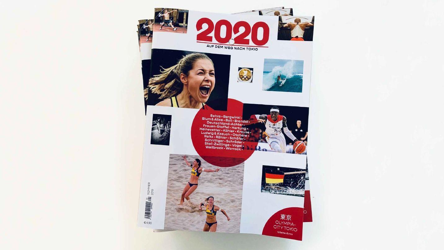 """""""20.20"""": Oliver Wurm bringt Magazin-Trilogie zu den Olympischen Spielen an den Kiosk"""