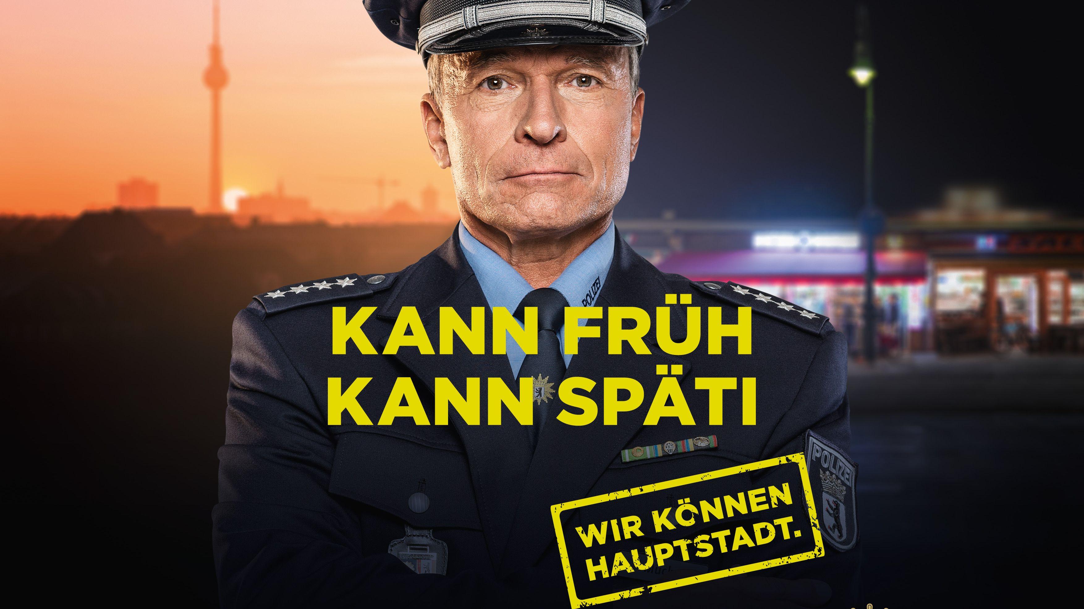 """""""Wir können Hauptstadt"""": Das ist die neue Imagekampagne der Polizei Berlin von Glow"""