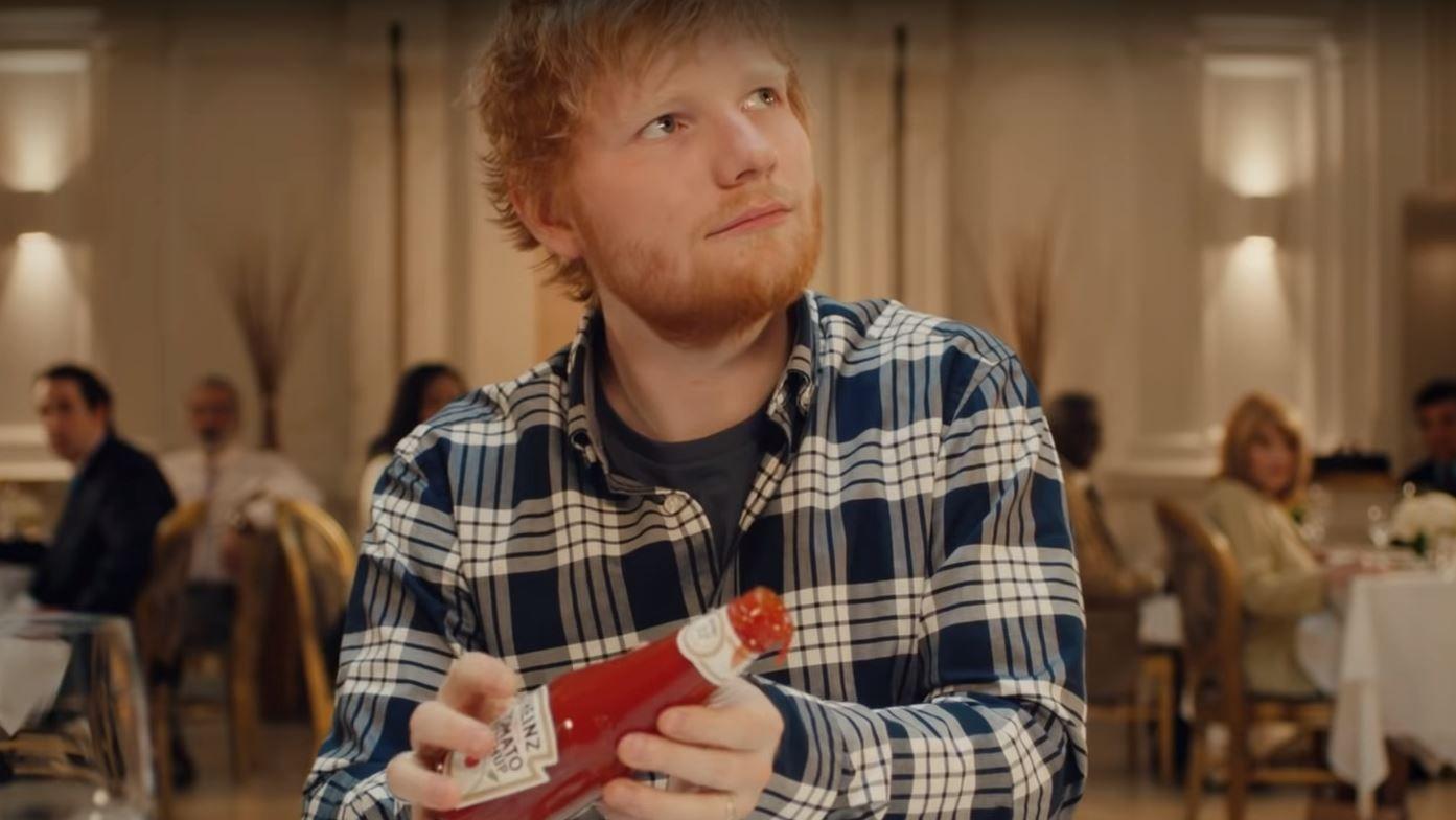 Heinz Ketchup: Ed Sheeran und der schockierende Fauxpas im Edelrestaurant