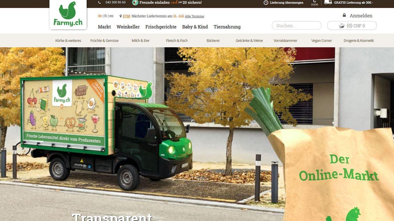 Online-Handel: Wie das Marketing zum Erfolg von Farmy.ch beiträgt