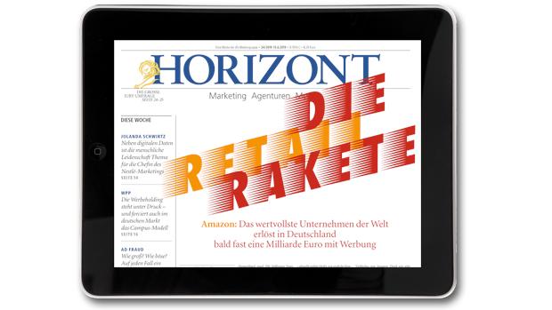 HORIZONT-Tablet-Ausgabe 24/2019