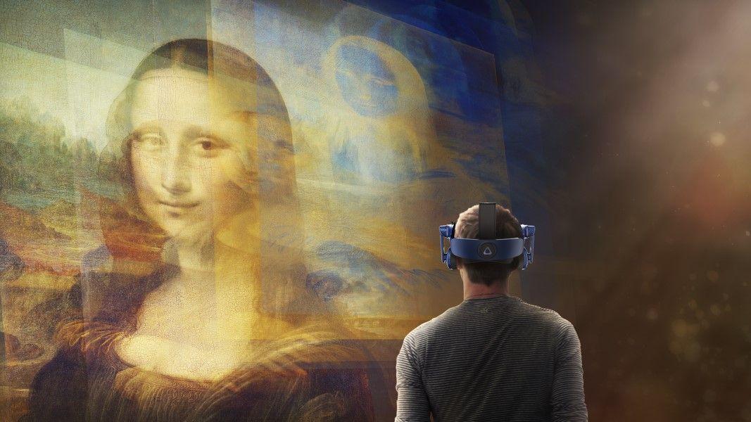 HTC Vive : Wie Virtual Reality dem Louvre-Besucher das Gedrängel vor der Mona Lisa erspart