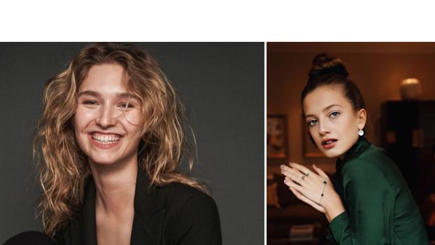 Manuela Frey (links) und Zoë Pastelle 2019