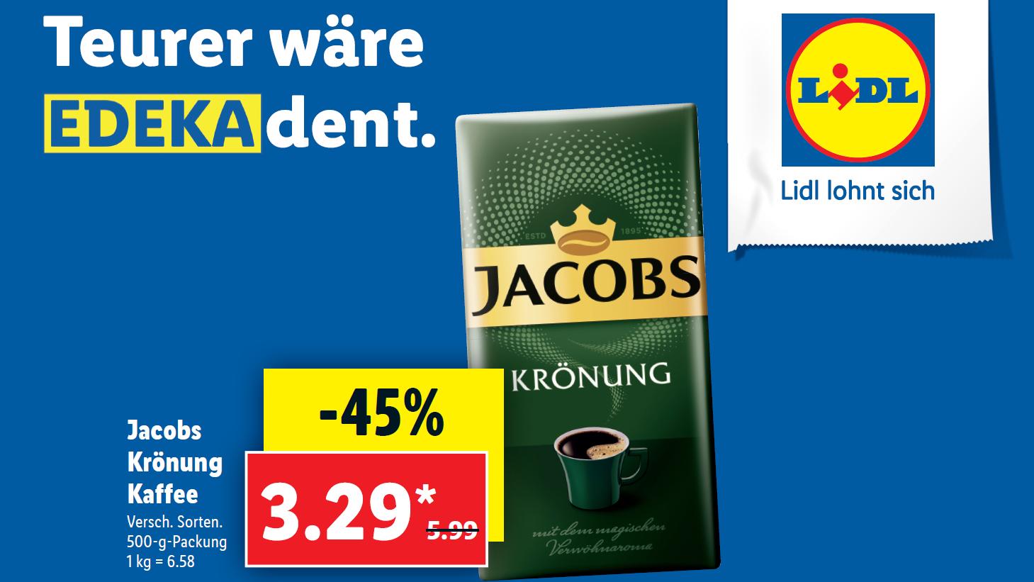 """""""Teurer wäre edekadent"""": Mit diesen Plakatmotiven nimmt Lidl die gesamte Konkurrenz auf die Schippe"""