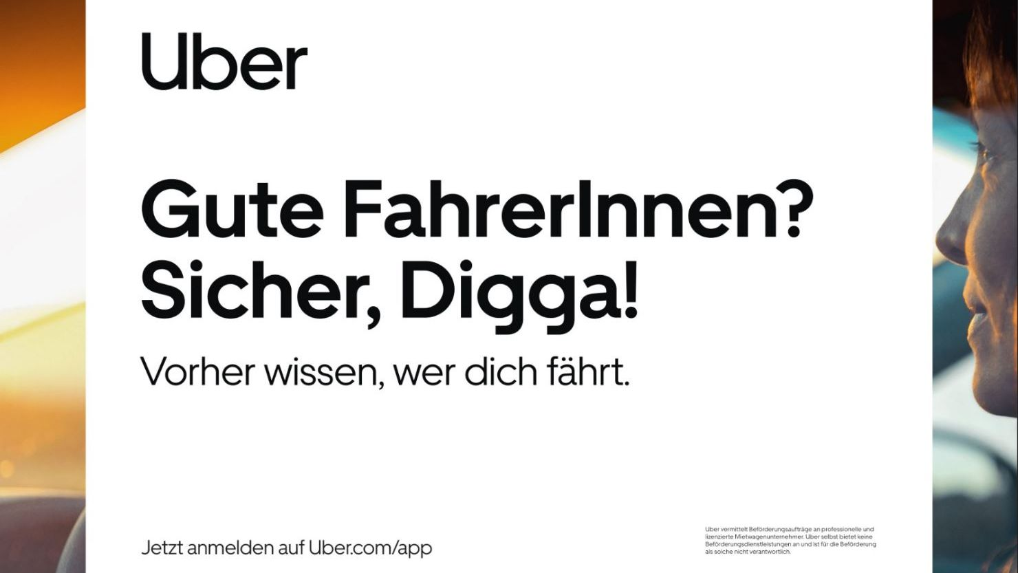 Fahrdienstvermittler: Uber wirbt zum Marktstart in Hamburg mit viel Lokalkolorit