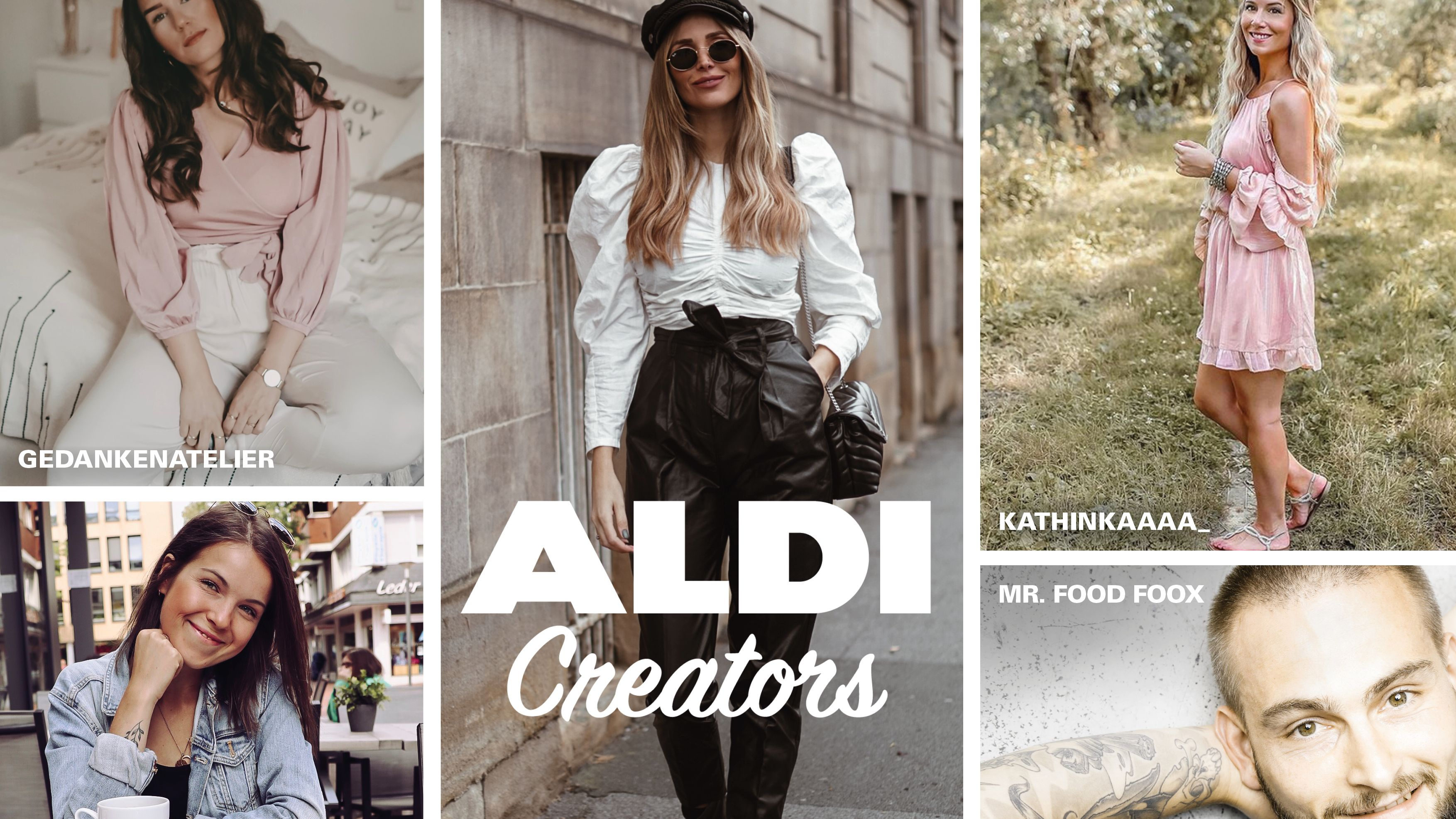 "Discounter-Marketing: Welche Influencer sich hinter den ""Aldi Creators"" verbergen"