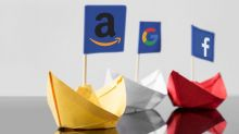 Amazon Google Facebook Montage