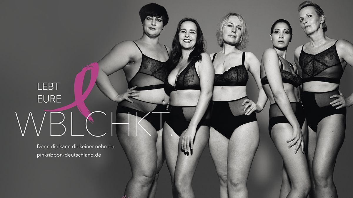Brustkrebs-Kampagne : Wie BBDO und Pink Ribbon mit Konventionen brechen