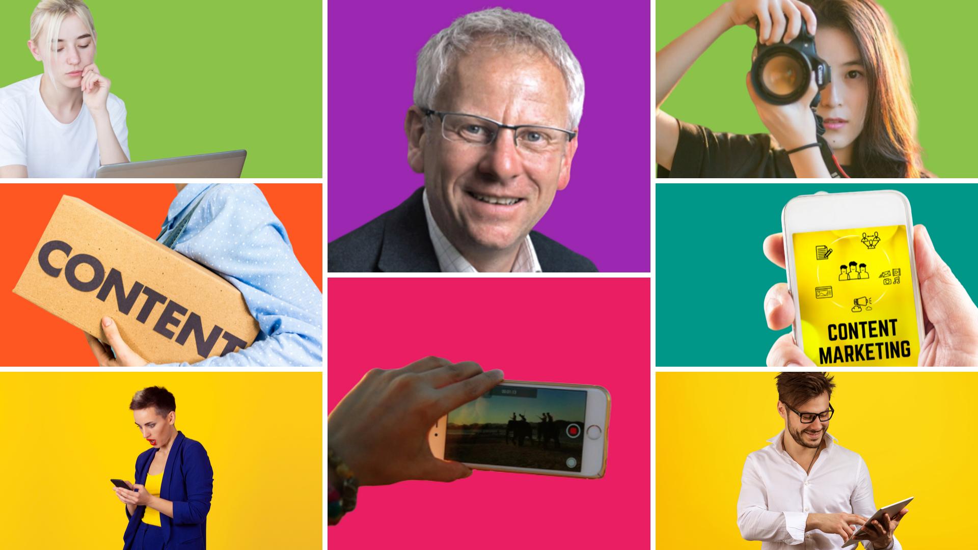 Expertengespräch: Über die bunte Welt des Content Marketings
