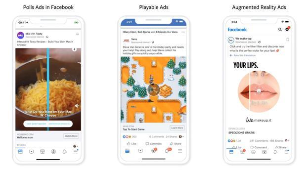 Social Media: Facebook kündigt drei neue Werbeformate an