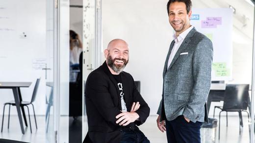 Die JvM/Limmat-Chefs Roman Hirsbrunner und Dennis Lück