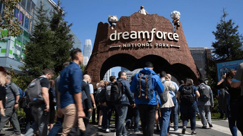 Dreamforce: Warum Salesforce einmal im Jahr ganz San Francisco in Beschlag nimmt