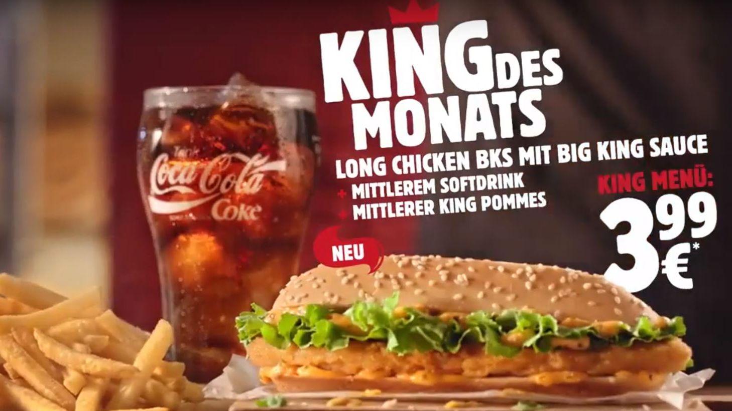 King Des Monat