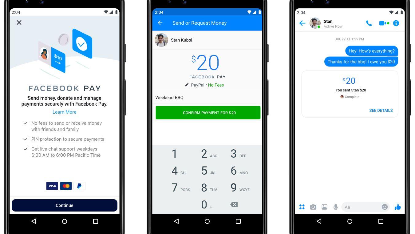 Facebook Pay: Facebook bündelt Bezahlfunktionen seiner Plattformen unter neuer Marke