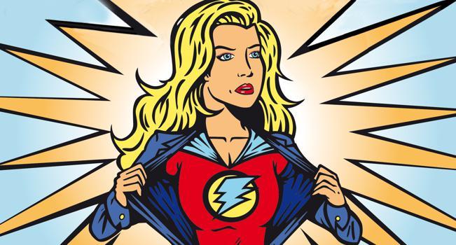 Frauen Superfrau Frauenquote