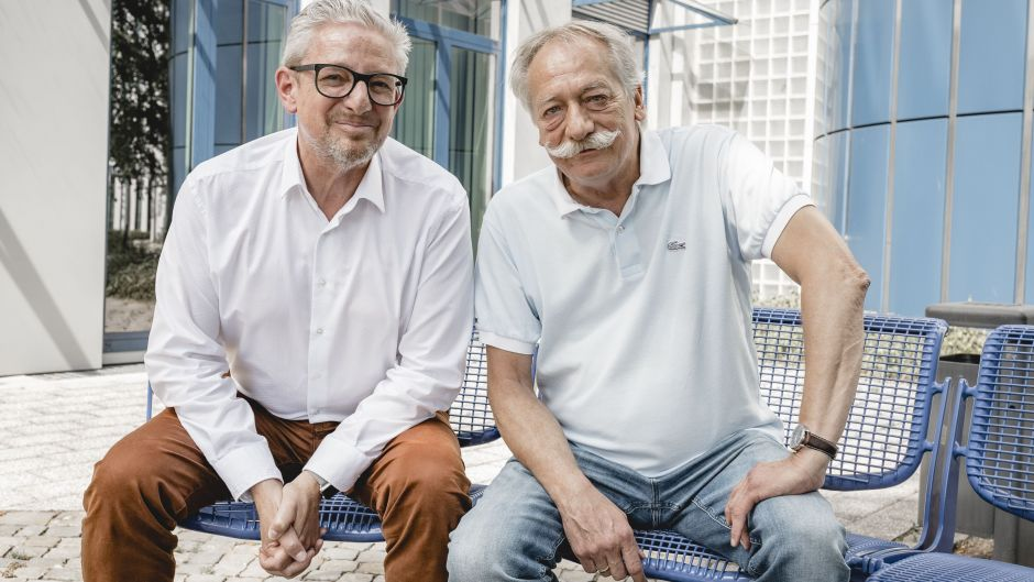 Guido Modenbach, Seven One Media, und Thomas Koch, The DOOH Consultancy