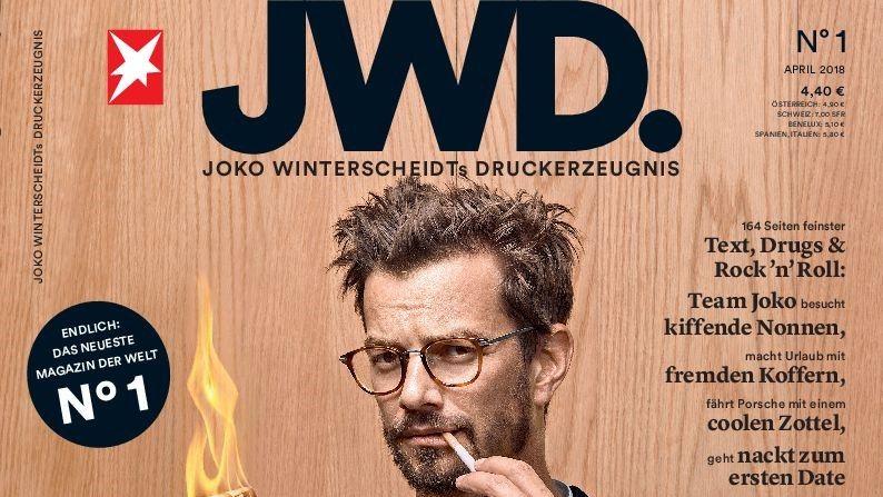 JWD: Gruner + Jahr und Joko Winterscheidt stellen Personality-Magazin ein