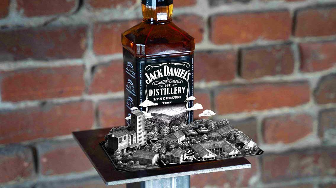 Augmented Reality: Jack Daniel's erweckt seine Flaschen zum Leben