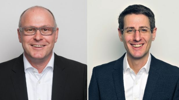 Stefan Stumpp (links) und Andreas Pohle