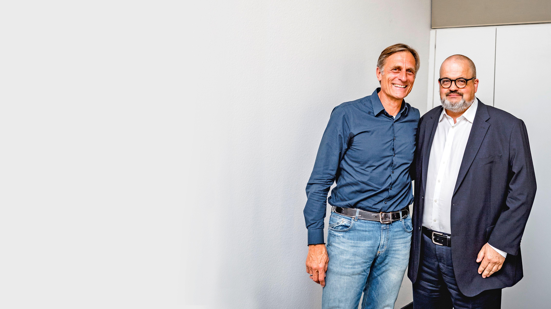Matthias Wahl (l.) und Uwe Storch