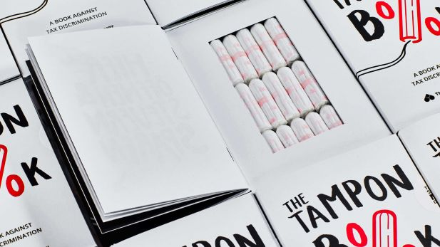 "Scholz & Friends räumt mit ""The Tampon Book"" für The Female Company auch bei den Clio Awards ab"