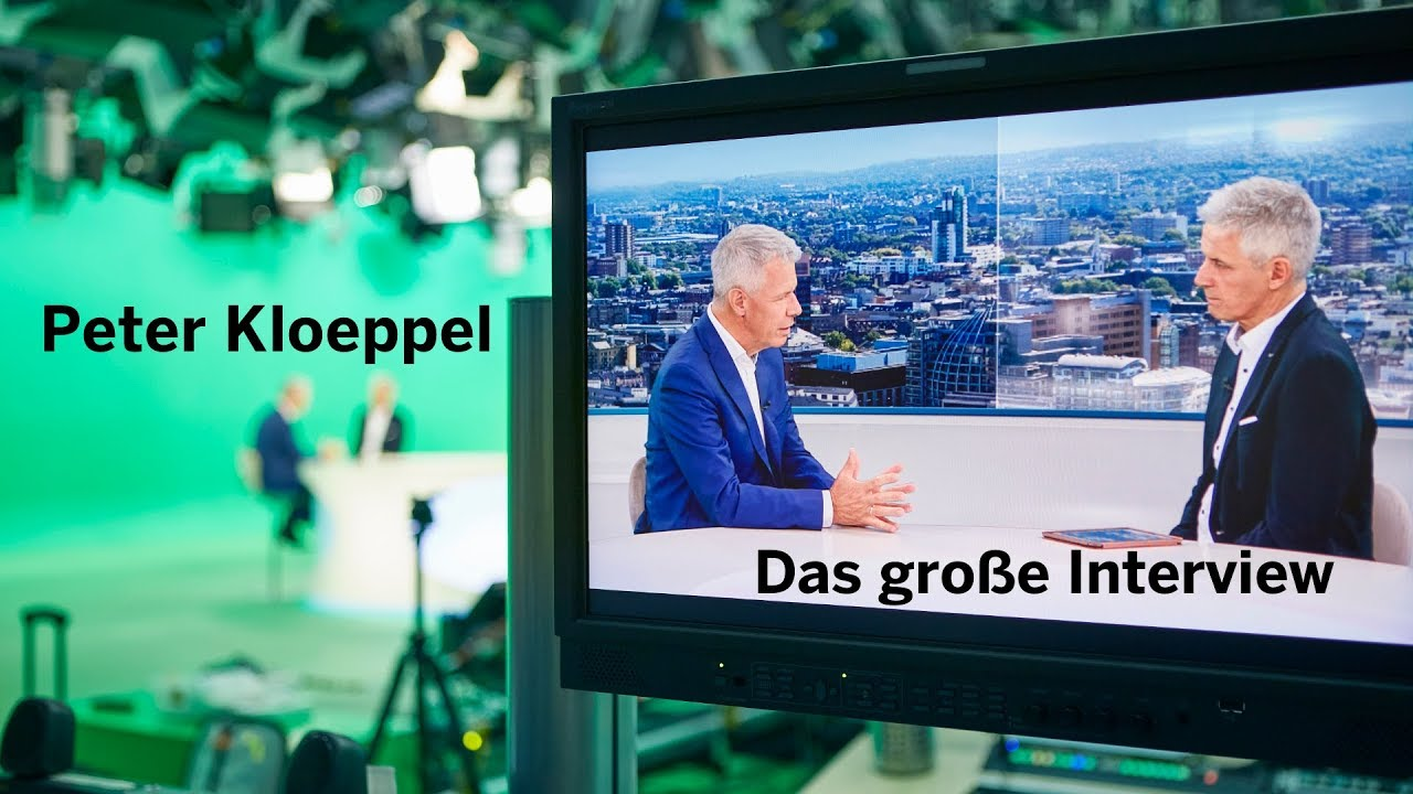 """Peter Kloeppel im Interview: """"Landwirtschaft wäre mir zu viel Arbeit"""""""