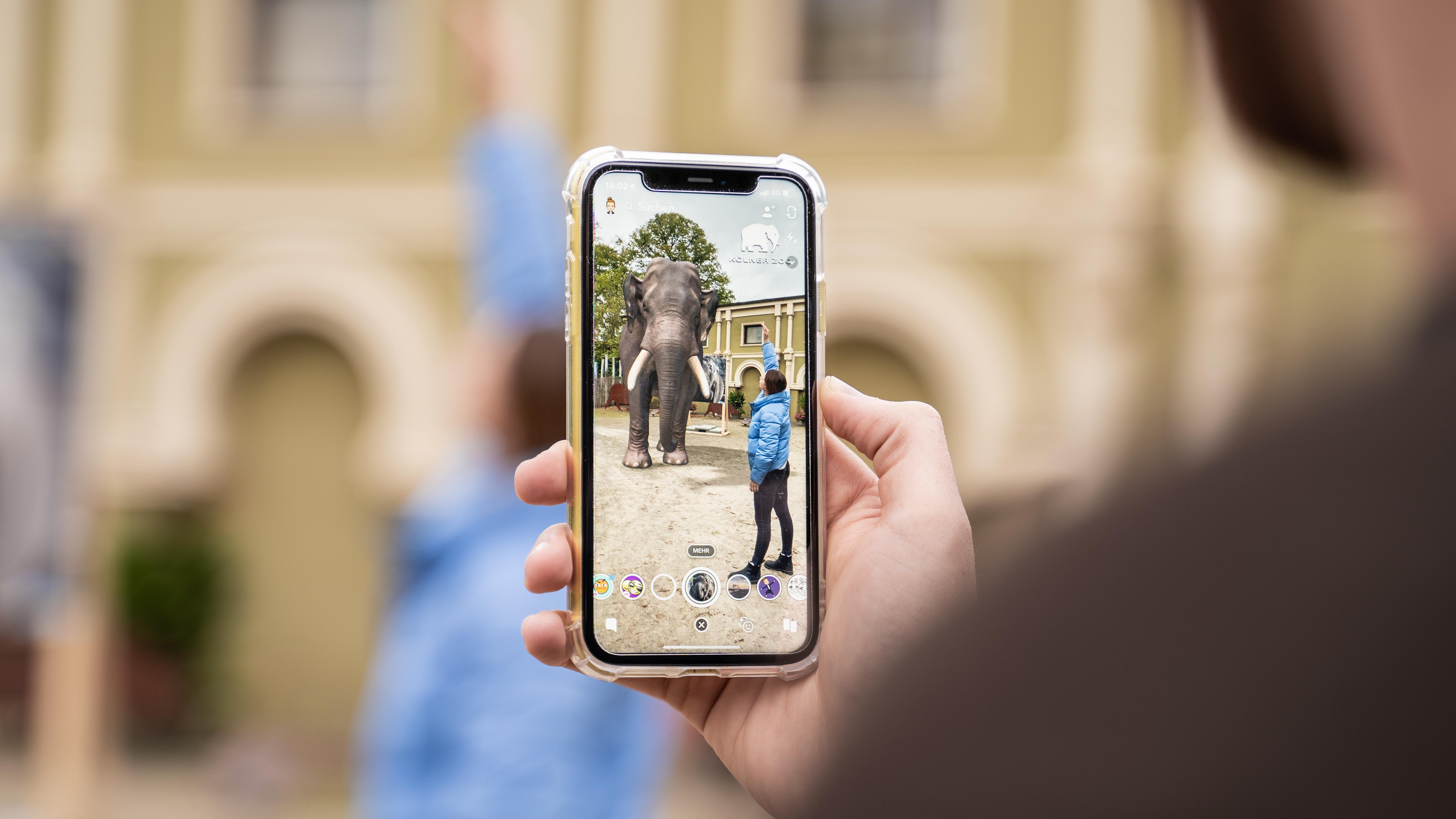 Augmented Reality: Wie Snapchat und der Kölner Zoo ein besseres Verständnis für Artenschutz schaffen wollen