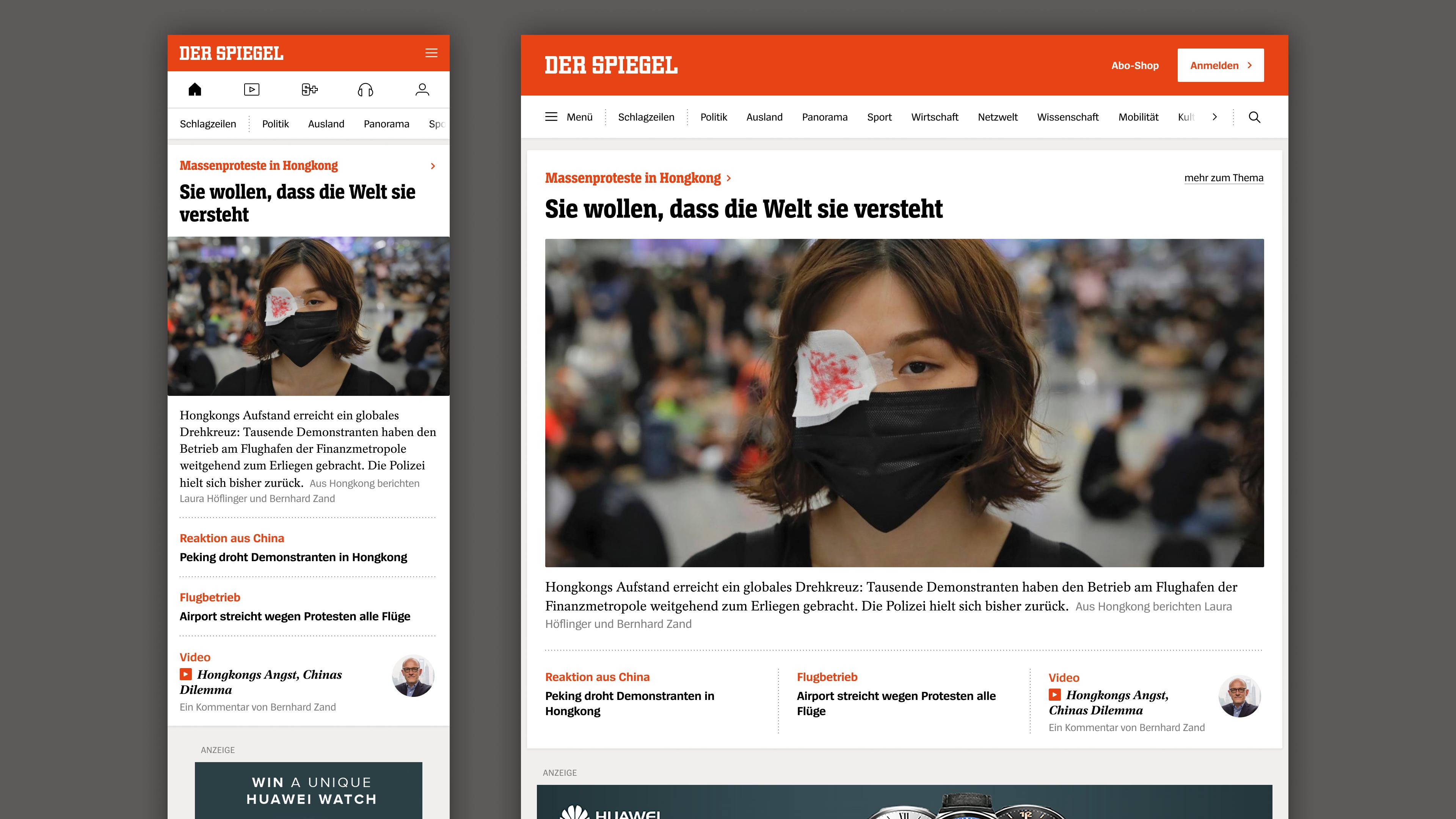Relaunch: So sieht Spiegel Online ab 2020 aus