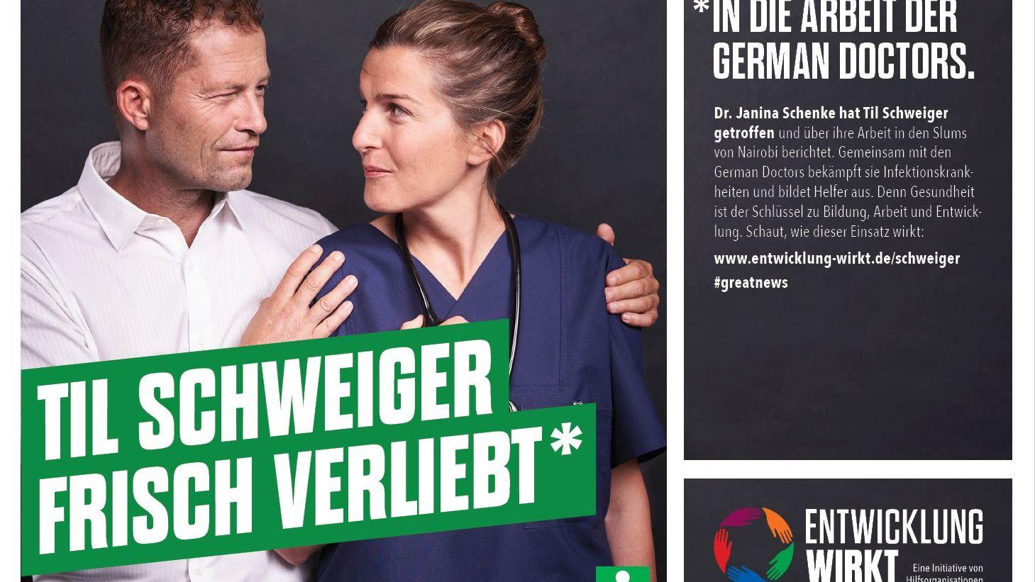 NGO-Kampagne: Til Schweiger, Jan Josef Liefers und Gronkh werben für Entwicklungshilfe