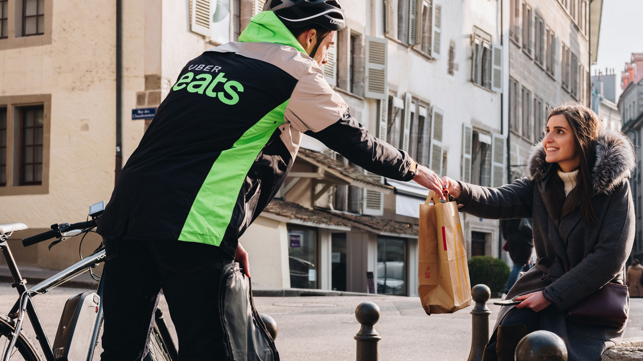 Lieferdienst: Uber Eats startet ab heute in Basel