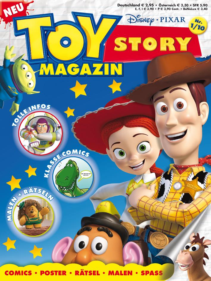 """Egmont Ehapa Launcht Toy Story Magazin: Egmont Ehapa Launcht """"Toy Story Magazin"""""""