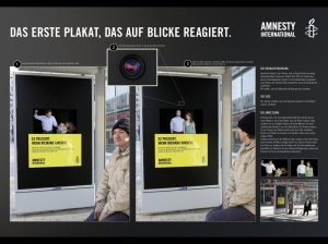 "Amnesty International ""Eye Tracking Campaign"" von JvM, Hamburg"