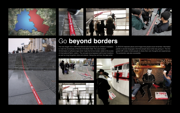 "CNN-Kampagne ""Go Beyond Borders."""