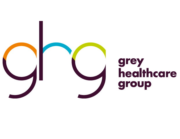 Das neue Logo der Grey Healthcare Group