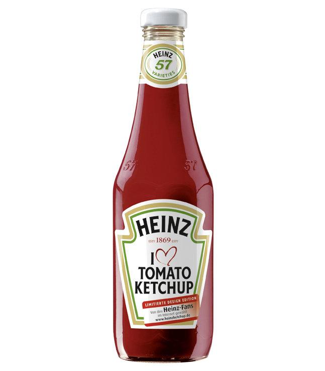 ketchup marke heinz wirbt im open sauce stil. Black Bedroom Furniture Sets. Home Design Ideas