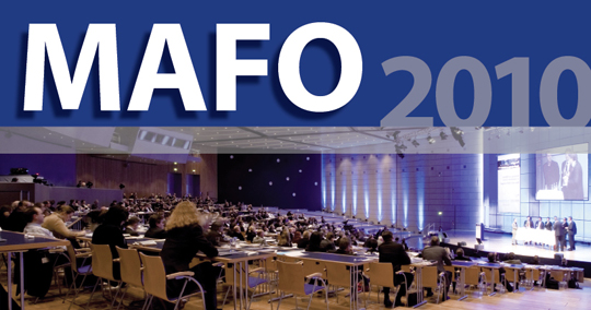 MAFO 2010, der Kongress für Market Research und Market Analysis