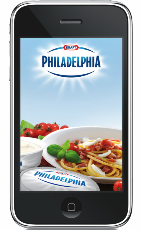 Screenshot der Philadelphia-App